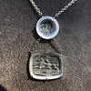 Racing Day Jockey & Horses Pendant, by Seal & Scribe 22