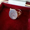 """""""Mama"""" Bear Family Crest Chalcedony Ring, by Seal & Scribe 7"""