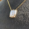 'Joys I Double, Sorrows I Divide' 18kt Rose Gold Cast Pendant, by Seal & Scribe 4