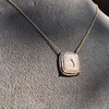 'Joys I Double, Sorrows I Divide' 18kt Rose Gold Cast Pendant, by Seal & Scribe 6