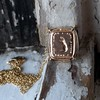 'Joys I Double, Sorrows I Divide' 18kt Rose Gold Cast Pendant, by Seal & Scribe 3