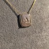 'Joys I Double, Sorrows I Divide' 18kt Rose Gold Cast Pendant, by Seal & Scribe 11