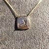 'Joys I Double, Sorrows I Divide' 18kt Rose Gold Cast Pendant, by Seal & Scribe 13