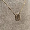 'Joys I Double, Sorrows I Divide' 18kt Rose Gold Cast Pendant, by Seal & Scribe 9