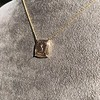 'Joys I Double, Sorrows I Divide' 18kt Rose Gold Cast Pendant, by Seal & Scribe 7