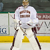 Brian Billett (BC - 1) - The Boston College Eagles defeated the Michigan State Spartans 5-2 in the first semi-final game  of the Ice Breaker Tournament on September 29th, 2011, at the Ralph Engelstad Arena at the University of North Dakota in Grand Rapids, North Dakota.