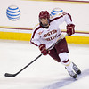 Chris Calnan (BC - 11) - The Boston College Eagles defeated  the Northeastern Huskies 4-2 on November 11, 2103, at Kelly Rink in Chestnut Hill, Massachusetts.