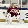 Chris Venti (BC - 30) - The  Notre Dame Fighting Irish defeated the Boston College Eagles 3-2, in overtime, on November 18, 2011, at the Compton Family Ice Center in South Bend, Indiana.