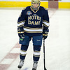 T.J. Tynan (ND - 18) - The Boston College Eagles defeated the University of Notre Dame 4-2 on November 9, 2012, at Kelly Rink in Chestnut Hill, Massachusetts.