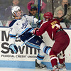 Will O'Neill (Maine - 27), Steven Whitney (BC - 21) - The University of Maine Black Bears defeated the Boston College Eagles 4-3 in overtime on January 120, 2012, at the Alfond Arena in Orono, Maine.