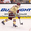Brian Dumoulin (BC - 2) - The Boston College Eagles defeated Boston University Terriers 3-2 in overtime in the finals of the 60th Beanpot Tournament on February 13, 2012, at TD Banknorth Garden in Boston, MA.