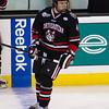 Dan Cornell (NU - 4) - The Northeastern University Huskies defeated the Boston University Terriers 3-1 in the opening round of round 61st Beanpot  on February 4, 2013, at TD Bank North Garden in Boston, Massachusetts.