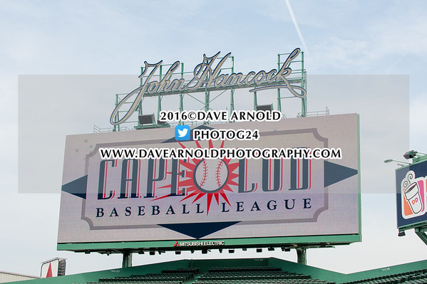 The Cape Cod Baseball League on July 7, 2016, at Fenway Park in Boston, Massachusetts.