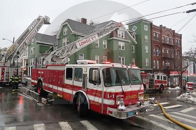 4 Alarm House Fire - Lowell, MA - 2/24/2019