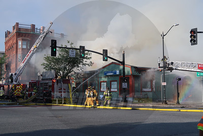 9 Alarm Structure Fire - South Main Street, Natick, MA - 7/22/2019