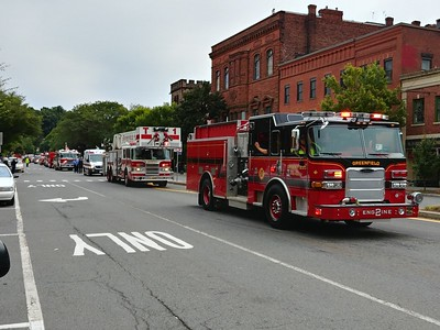 Fire Parade - Greenfield, MA - 9/9/2018