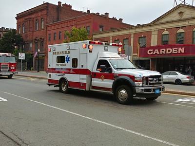 Greenfield, MA Ambulance 1