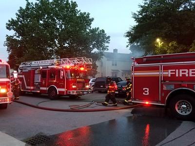 Working fire on Joseph Fern Court in Weymouth, MA on June 18, 2018. Video: https://youtu.be/Sf2goL8DMz0