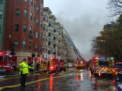 Seven alarms on Hemenway Street in Boston, MA on October 27, 2018. Video: https://youtu.be/8hwxHhoxlLY