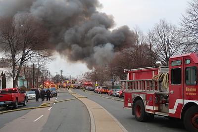 9 alarms in Boston on Bennington Street on March 15, 2019. Video: https://youtu.be/A7dY9W7uQ8k