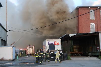 2 alarm plus mill fire in Lowell, MA, on June 14, 2019. Video: https://www.youtube.com/watch?v=x1fj3hrPlOs