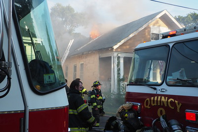 Four alarms on Hanna Street in Quincy, MA on July 27, 2020. Video: https://youtu.be/flWG2fMK8qE