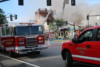 Nine alarms on South Main Street in Natick, MA on July 22, 2019. Video: https://youtu.be/db02CTj5VFo