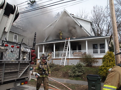 Working fire on Hall Street in Manchester, NH on April 16 2013. Video here: https://youtu.be/i2wn9SRm3SM