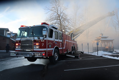 Working fire plus on Tarrytown Road in Manchester, NH on January 12, 2019. Video: https://youtu.be/FSPCbxx9IsQ