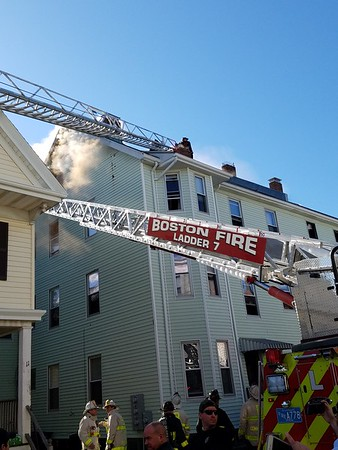 Five alarms on Clover Street in Boston, MA on April 14, 2017. Video: https://youtu.be/taCS_xJiVuI