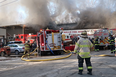 Eight alarms on Main Street in Pepperell, MA on November 23, 2018. Video: https://youtu.be/BUiv2QwZznE