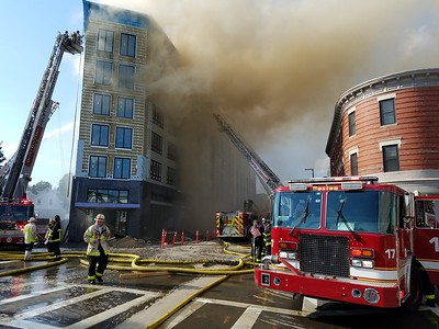 Six alarms plus on Dorchester Avenue in Boston, MA on June 28, 2017. Video: https://youtu.be/EWqquPdMoUs