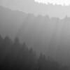 Shadows across the Santa Cruz Mountains