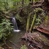 Sempervirons Falls, Big Basin Redwoods State Park