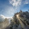 Winter Scene 1, Alba Road, Santa Cruz Mountains.