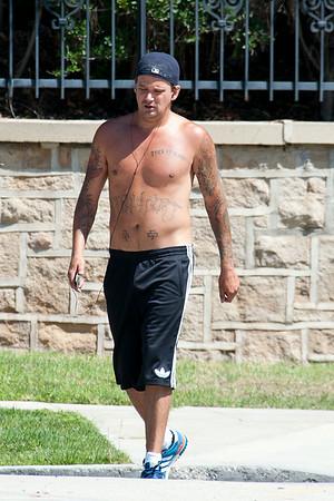 Sean Stewart seen in Beverly Hills