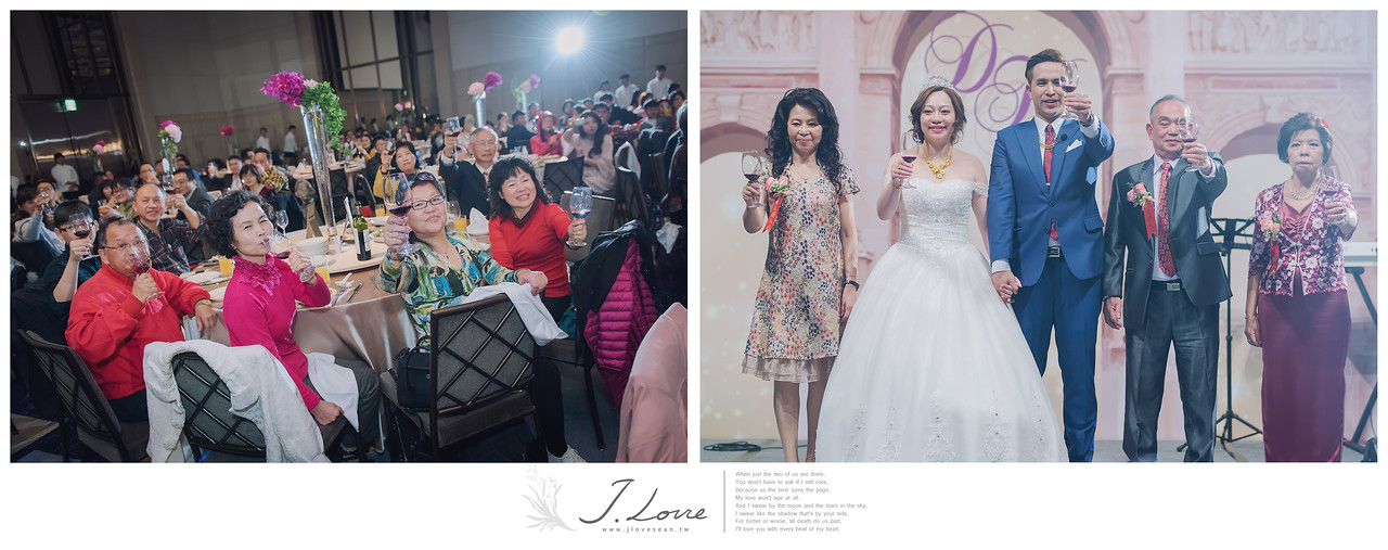 《台北婚攝》在上帝見證下的聖潔美麗時刻/萬豪酒店