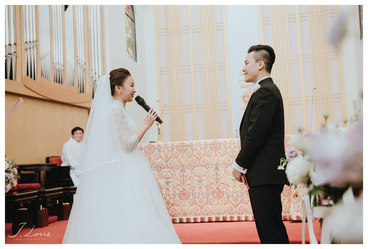 《台北婚攝》父親的愛盡化筆墨中/聖約翰座堂
