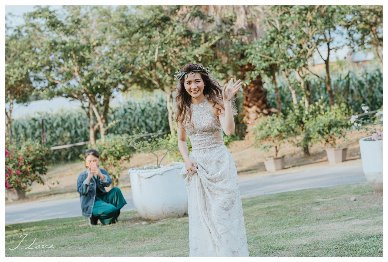 《雲林婚攝》幸福與美麗的際遇/九九莊園