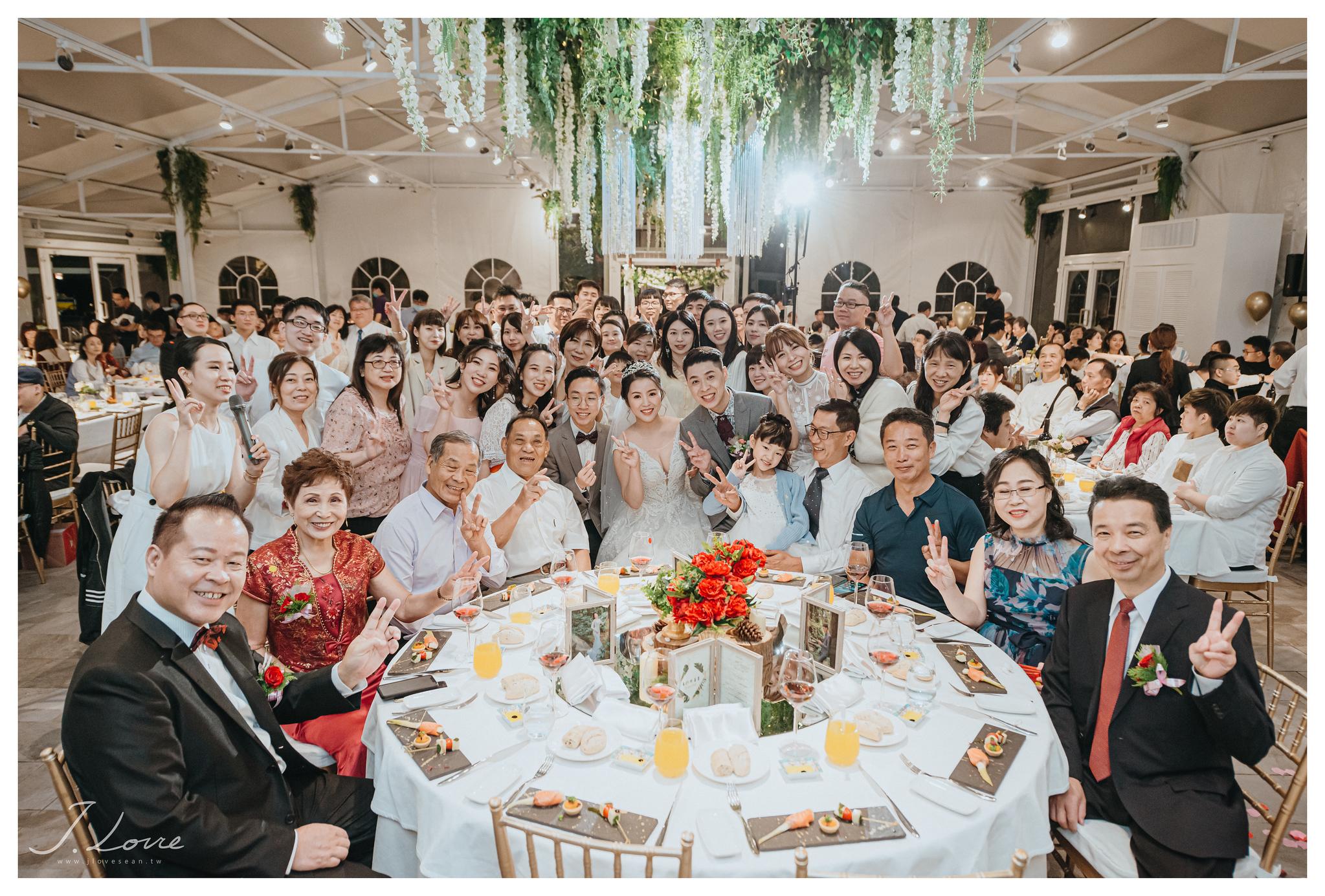 《台北婚攝》被滿滿祝福包圍的我們/淡水嘉廬