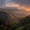 Sunset at Castle Rock State Park
