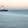 Walton Lighthouse Pastel Sunset