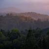 Sunset in the Santa Cruz Mountains