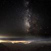 The Milky Way over the Santa Cruz Mountains