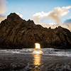 Keyhole Arch, Pfeiffer Beach, Big Sur, California