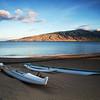 Kanoes at Sunrise