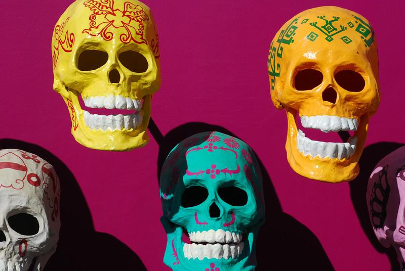 Masks from Dia de los Muertos