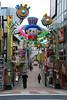 Entrance to Takeshita-dori Street from Harajuku Station
