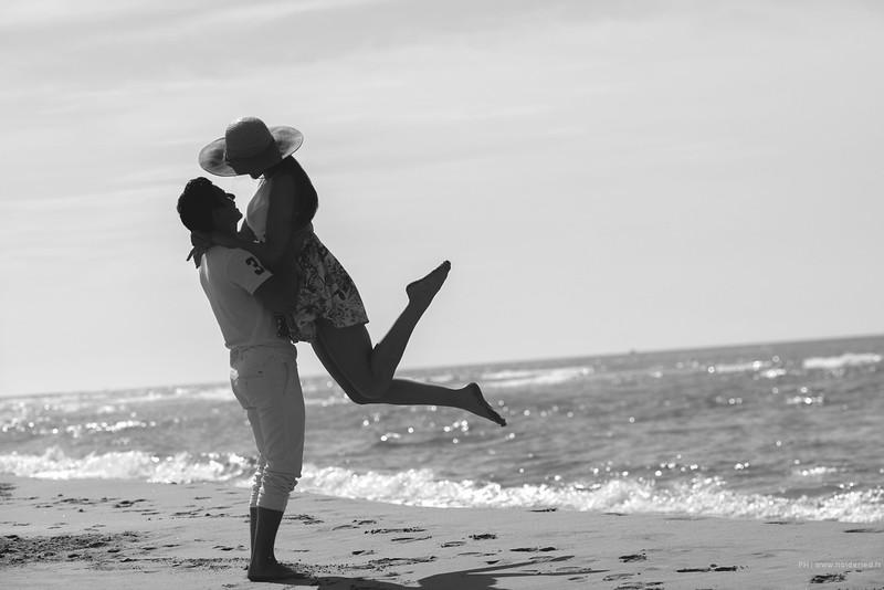 Photos de couple plage  | Love story montpellier