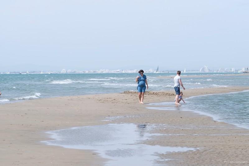 Séance photo en famille à la plage